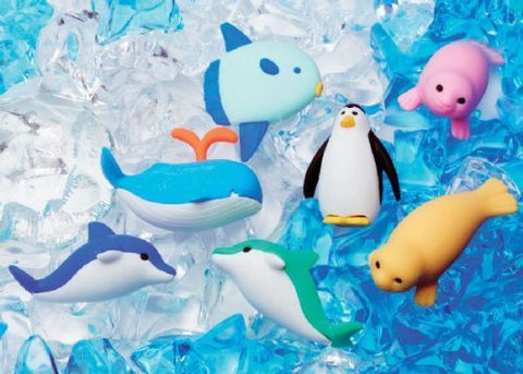 Iwako Assorted Eraser Marine Sea Animal No.1