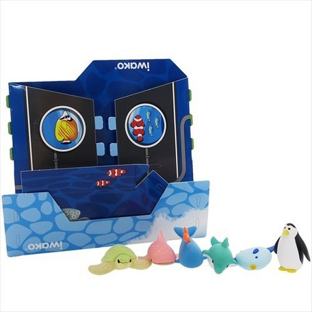 Iwako Eraser Craft House (Aquarium and Sea Animals Set)