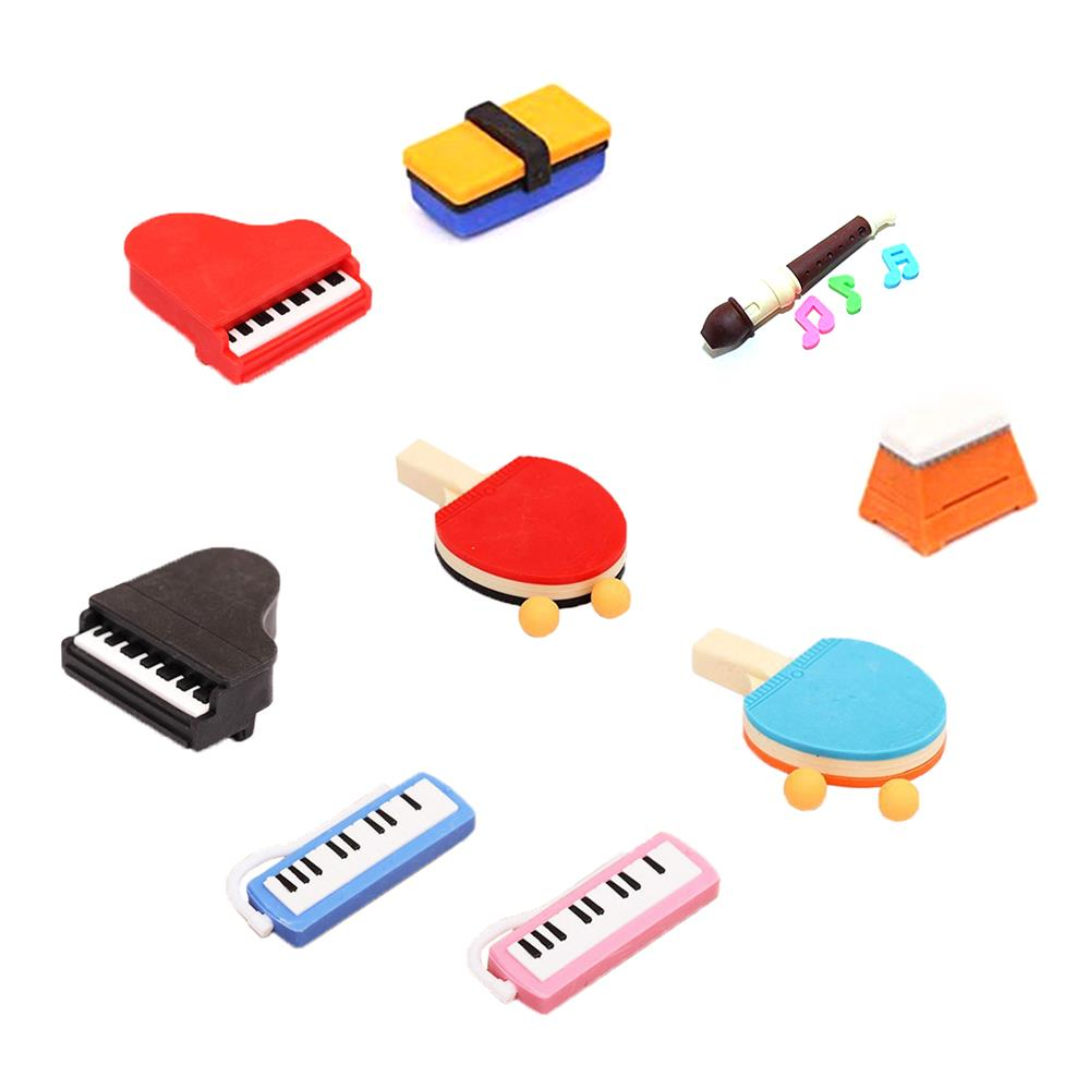 Iwako Assorted Eraser School 2