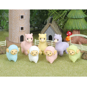 Iwako Assorted Eraser Sheep & Alpaca