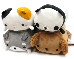 Mochi Puni Animal M Series II Soft Plush Cushion 14""