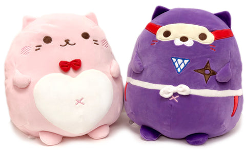 Mochipuni Picnyan Cat Plush Series I Piczo & Happy 12""