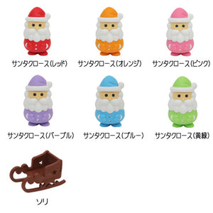Iwako Assorted Eraser Santa Claus