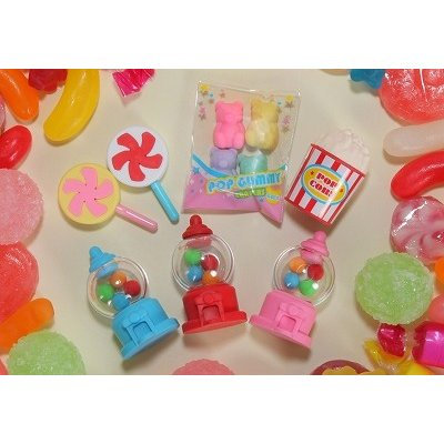 Iwako Assorted Eraser Colorful Sweets