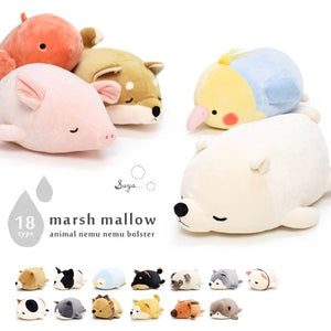 "Liv Heart MARSHMALLOW 11"" Bolster - [Animal Ver.1]"