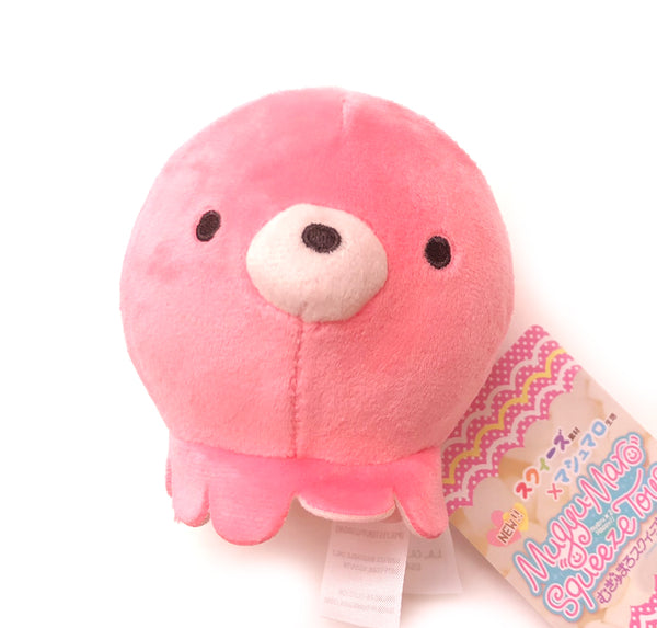 Yamani Mugumaru Squishie Ball Animal 4""