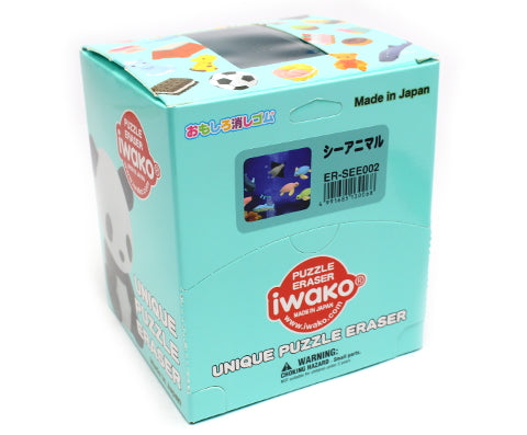 Iwako Assorted Eraser Aquarium Sea Animal No.2