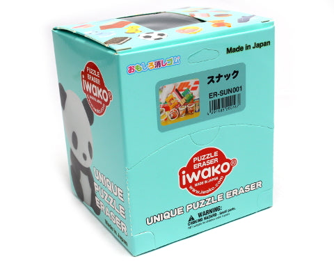 Iwako Assorted Eraser Japanese Snack & Noodle