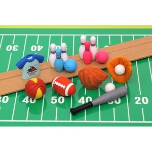 Iwako Assorted Eraser Sports