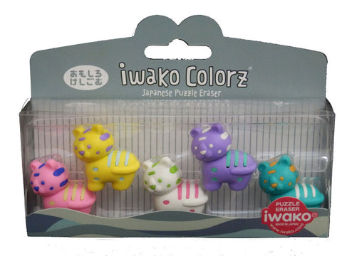 Iwako COLORZ Eraser Tiger