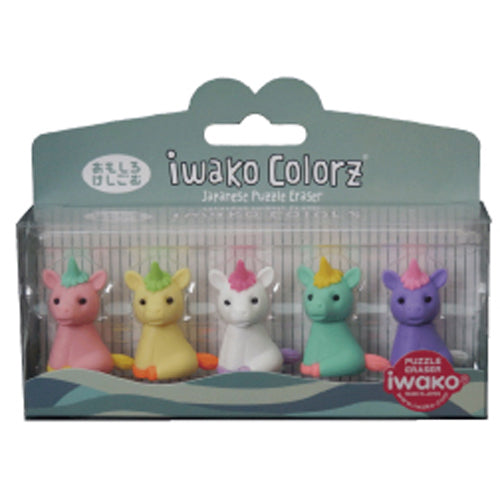 Iwako COLORZ Eraser Unicorn