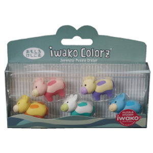 Iwako COLORZ Eraser Cow