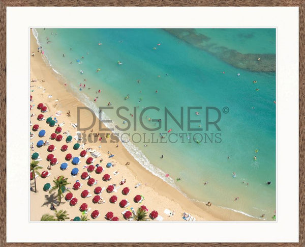 Aerial Beach XII - DESIGNERS CANDY