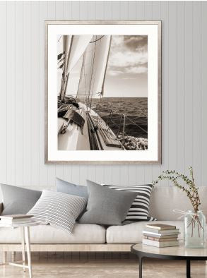 Nautical VI (Sepia) Print - DESIGNERS CANDY