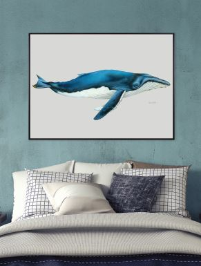Blue Whale (CANVAS) - DESIGNERS CANDY
