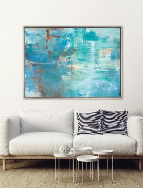 Shoal Bay (CANVAS) - DESIGNERS CANDY