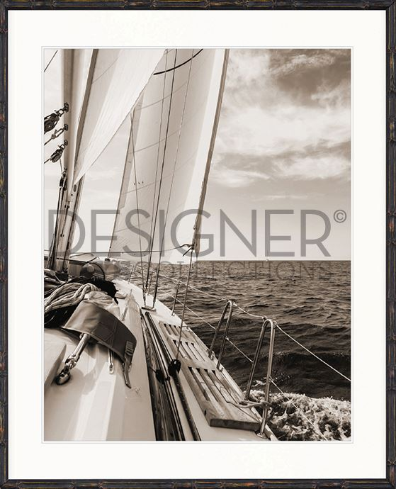 Nautical III (Sepia) Print - DESIGNERS CANDY
