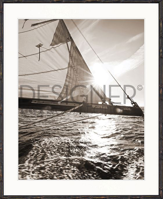 Nautical IV (Sepia) Print - DESIGNERS CANDY