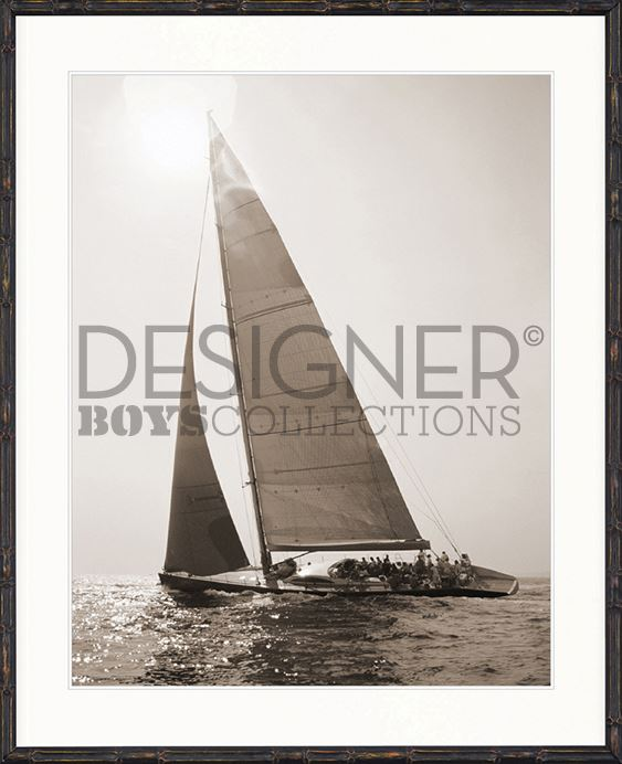 Nautical I (Sepia) Print - DESIGNERS CANDY