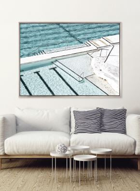 Ocean Pool VI (CANVAS) - DESIGNERS CANDY