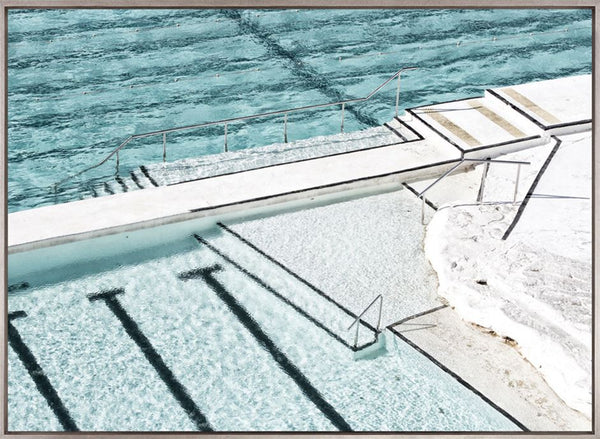 Ocean Pool II (CANVAS) - DESIGNERS CANDY