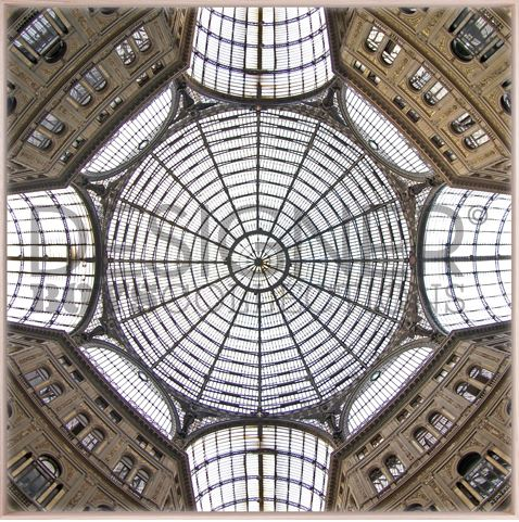 Ornate Ceiling III (Canvas) - DESIGNERS CANDY