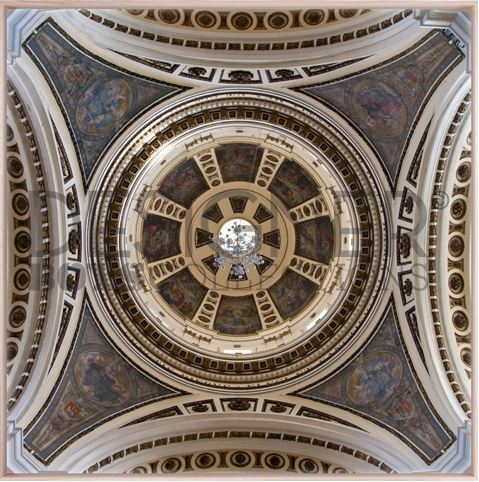 Ornate Ceiling I (Canvas) - DESIGNERS CANDY