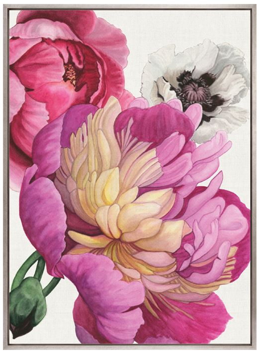 Peonies & Roses II (CANVAS) - DESIGNERS CANDY