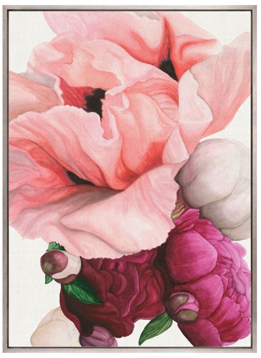 Peonies & Roses IV (CANVAS) - DESIGNERS CANDY