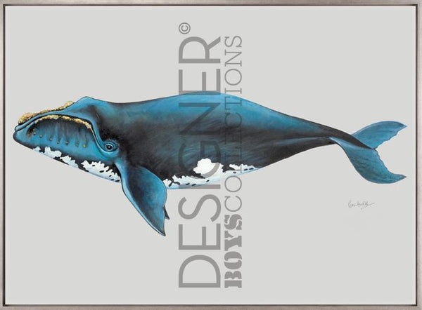 Southern Right Whale (CANVAS) - DESIGNERS CANDY