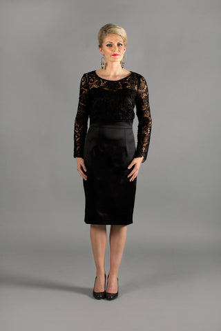 Aziza Black Dress