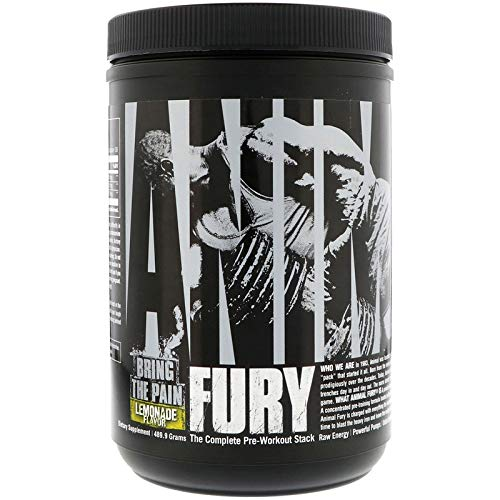 Universal Nutrition Animal Fury 30 Servings PreWorkout Lemonade