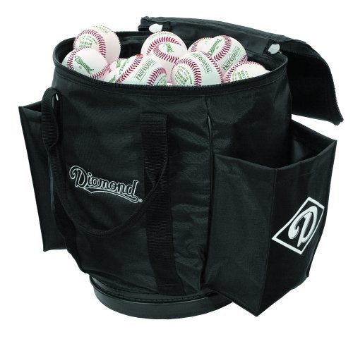 Diamond Sports Ball Bag Baseball/Softball - Black