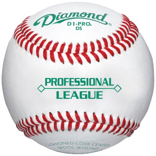 Diamond D1-Pro DS Professional League Leather Baseballs 12 Ball Pack D1-PRO DS