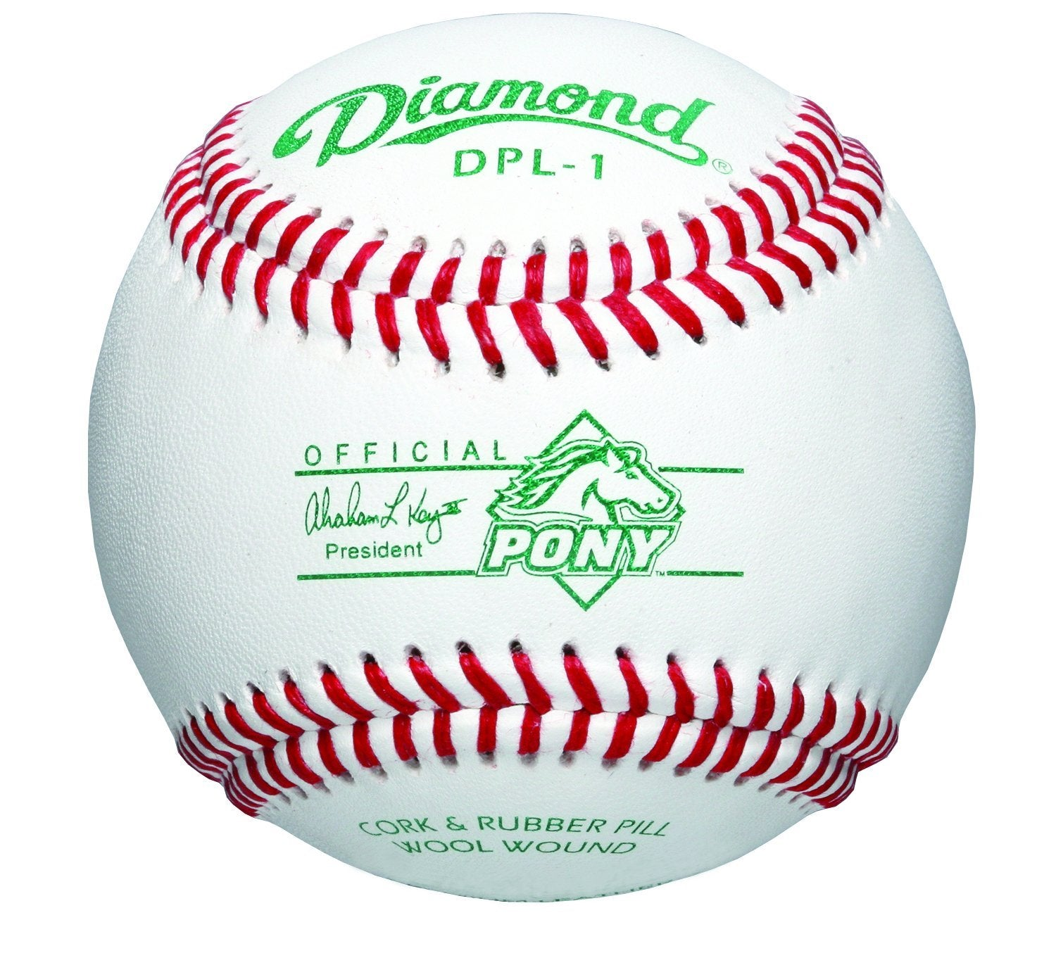 Diamond DPL-1 Pony League Baseball 12 Pack