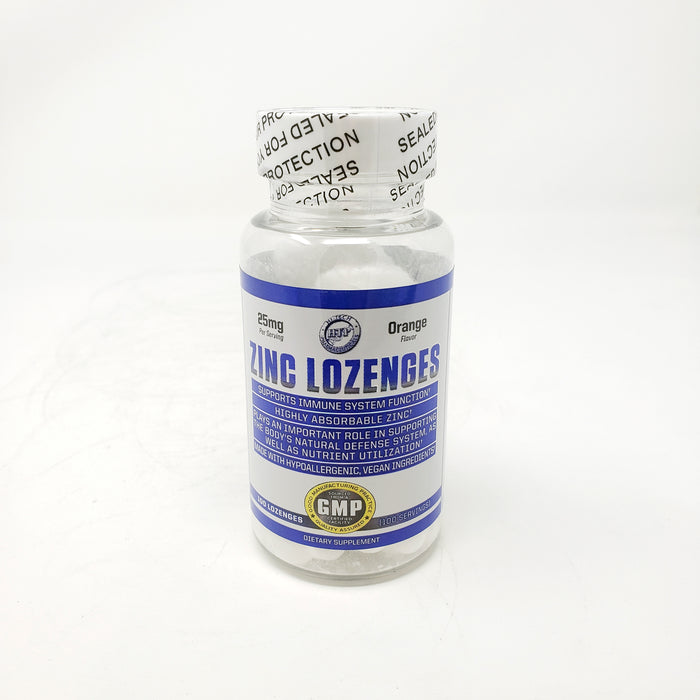 Hi-Tech Zing Lozenges 25mg 100 Servings Orange Flavor