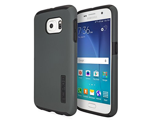 Incipio DualPro Dual Layer Protection Case for Samsung Galaxy S6 - Charcoal/Black