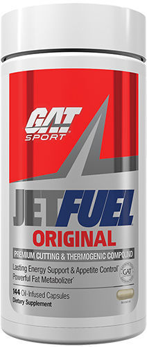 GAT JET FUEL Original Fat Burner 144 Capsules JETFUEL ORIGINAL