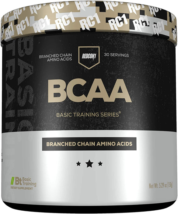 Redcon1 BCAA Branched Chain Amino Acids 30 Servings Unflavored