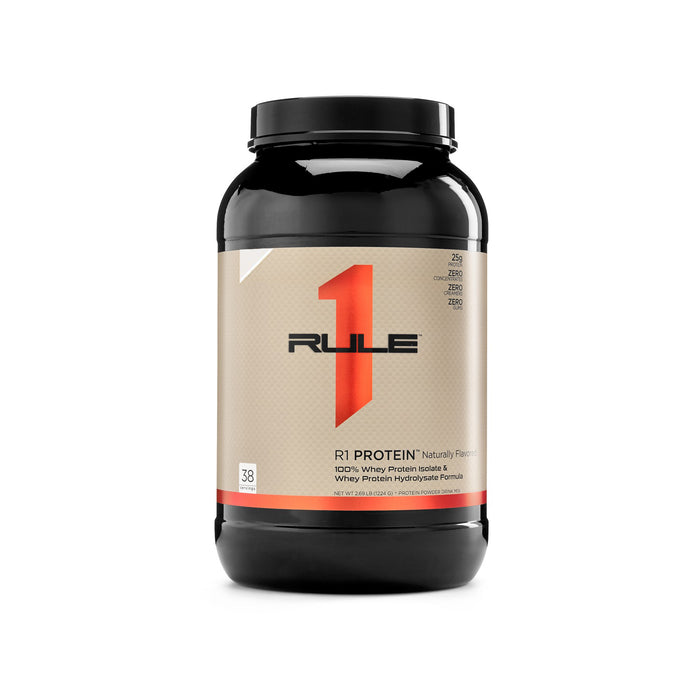 Rule 1 Protein R1 Whey Isolate 38 or 76 Servings