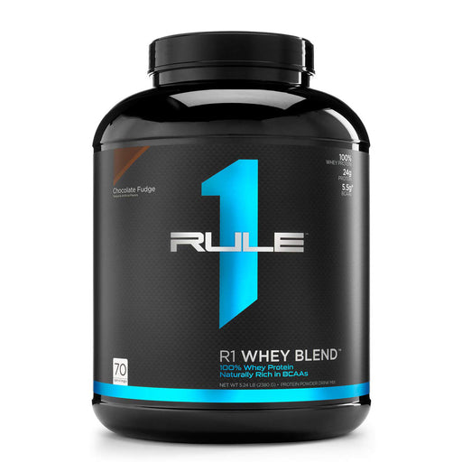 Rule 1 R1 Whey Blend 5LB 70 Servings