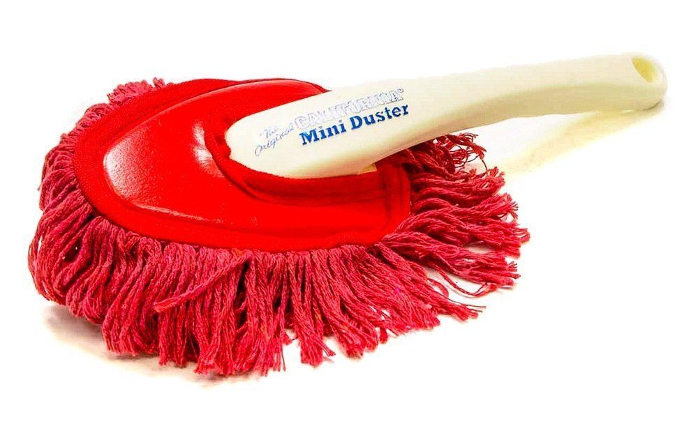 The Original California Mini Car Duster for Home and Auto Parafin Wax Treated