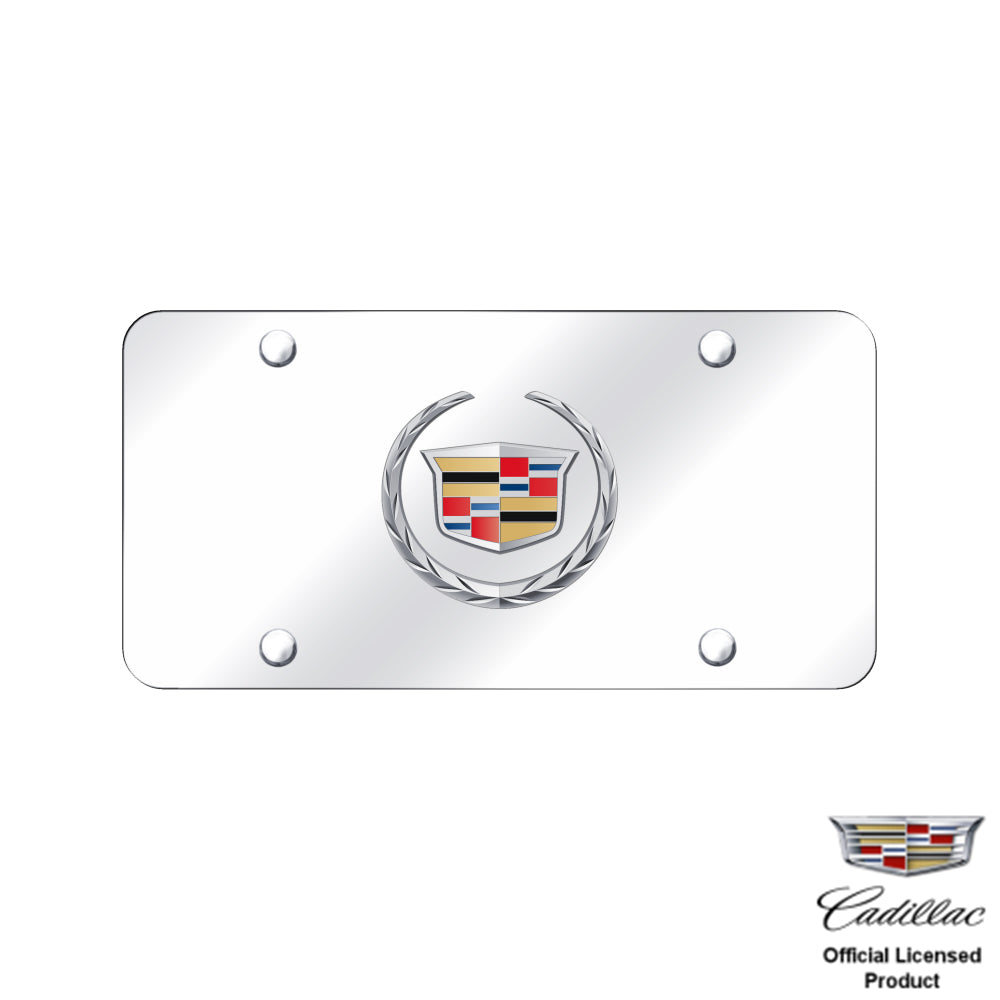 Au-Tomotive Gold, Cadillac (New) Logo Chrome/Chrome Plate