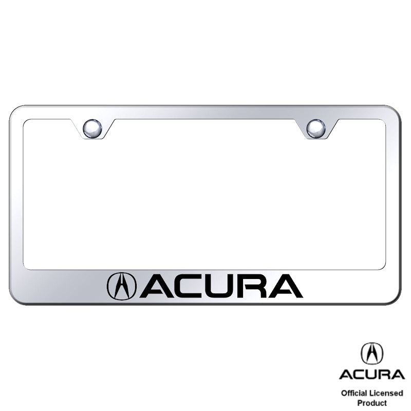 Au-Tomotive Gold Acura Laser Etched Frame – Mirrored
