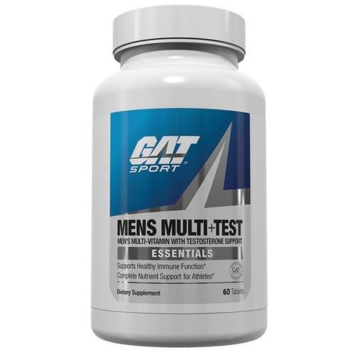 GAT Mens MULTI PLUS TEST Multivitamin 60 Tablets
