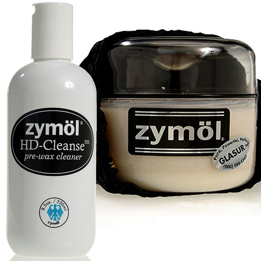 Zymol Glasur Glaze & HD Cleanse Pre-Wax Cleaner Combo Kit