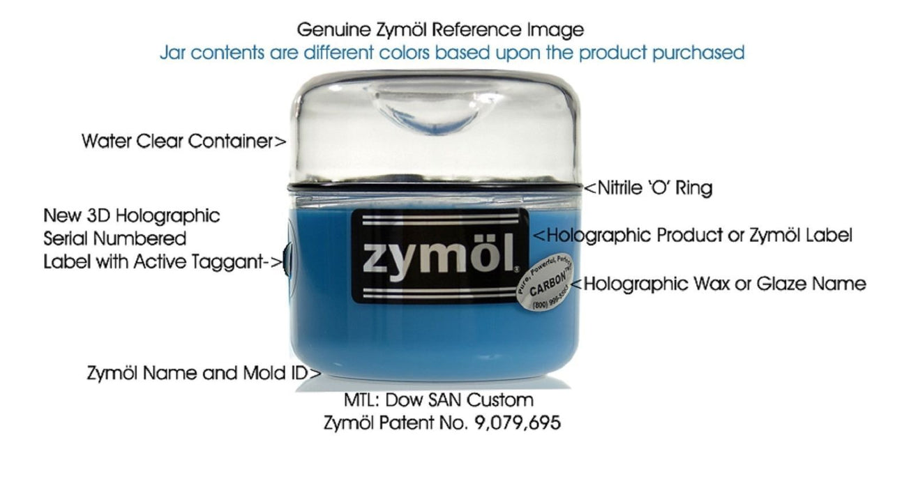 Zymol Carbon Wax with Zymol Wax Applicator 8 oz with Microfiber Cloth
