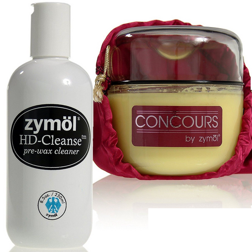Zymol Concours Glaze & HD Cleanse Pre-Wax Cleaner Combo Kit
