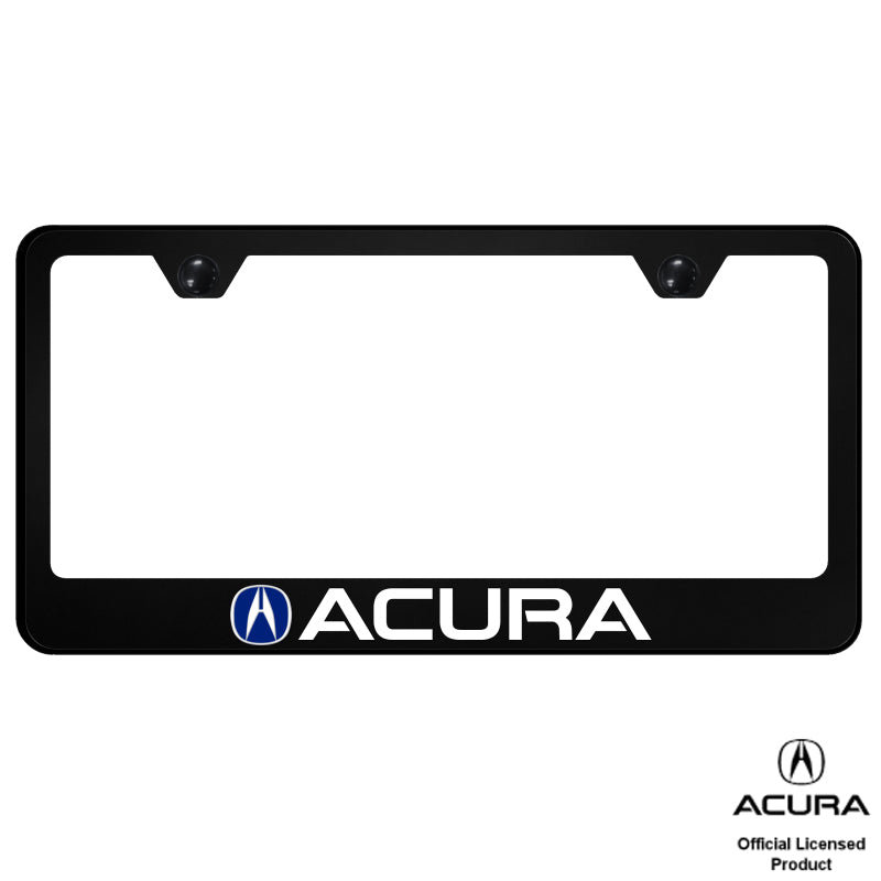 Au-Tomotive Gold for Acura (Blue Fill) PC Frame – UV Print on Black