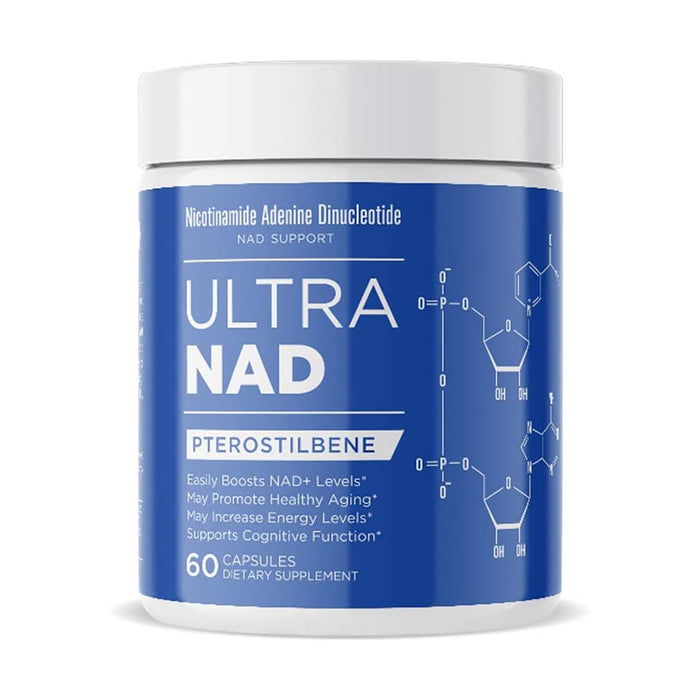 UltraNAD Pterostilbene 60 Capsules Dietary Supplement